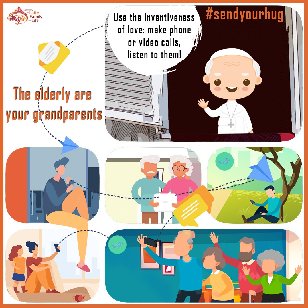 The elderly are your grandparents - Dicastery for Laity, Family and Life.jpg